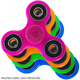 GeoSpin Glow in the Dark Fidget Spinner (assorted colors)