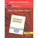 Holt Traditions Warriner's Handbook Chapter Tests With Answer Key Grade 8 Second Course