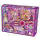 Purple Collage Jigsaw Puzzle (1000 piece)