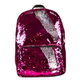 Pink / Silver Magic Sequin Backpack