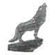3D Crystal Puzzle - Wolf (Black)