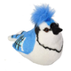 Audubon Bird: BlueJay Plush With Real Bird Call