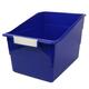 Wide Tattle Shelf File - Blue