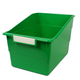 Wide Tattle Shelf File - Green