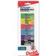 Hi-Polymer Block Eraser Colors, Small, 6 pack