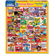 Cereal Boxes Collage Jigsaw Puzzle (1000 piece)