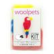 DIY Wool Bird Brooch - Macaw Pin