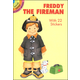 Freddy the Fireman with 22 Stickers