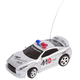 RC Mini Police Racer Silver