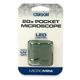 MicroMini 20x LED Pocket Microscope - Green