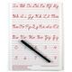 Traditional Cursive Write-on/Wipe-off Board