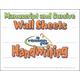 Reason for Handwriting Manuscript /Cursive Wall Sheets