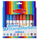 Washable 10 Stamp Markers - Animals