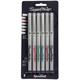 Elegant Writer Set of 6 Markers - 3.0mm (Broad Point)