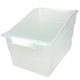 Wide Tattle Shelf File - Clear