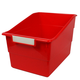 Wide Tattle Shelf File - Red
