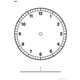 Large Clock Face Chart