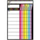 Magnetic Neon Black Chore Chart - 12