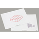 Write-On/Wipe-Off Isometric Drawing Mat