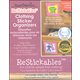 ReStickables Clothing Organizers - Pink