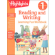 First Grade Reading and Writing Learning Fun Workbook