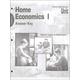 Home Economics 1 Answer Key Units 1-5