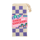 Chess and Checkers Wooden Enchanting Princess in Cloth Bag