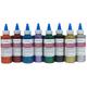 Washable Glitter Glue Primary Clr st/8(4 oz.)