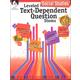 Leveled Text-Dependent Question Stems - Social Studies