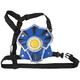 WhomBatz Ninja Tag Scorekeeping Breastplate - Blue
