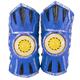 WhomBatz Ninja Tag Scorekeeping Shoulder Armor - Blue