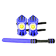 WhomBatz Ninja Tag Scorekeeping Shoulder Armor & Bolt Pack - Blue