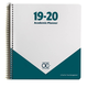 Academic Planner: Teal Appeal 8 1/8 x 8 5/8 July 2019 - June 2020