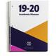 Academic Planner: Rainbow Sherbert 8 1/2 x 11 July 2019 - June 2020