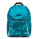 Turquoise / Silver Magic Sequin Backpack