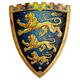 King's Shield - Triple Lion