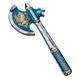 Knight Axe - Noble Knight (Blue)