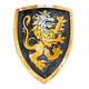 Knight Shield - Noble Knight (Black)