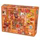 Orange Collage Jigsaw Puzzle (1000 piece)