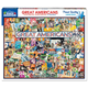 Great Americans Collage Jigsaw Puzzle(1000pc)