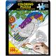Parrot Coloring Jigsaw Puzzle (300 piece)