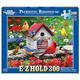 Patriotic Birdhouse E-Z Hold Jigsaw Puzzle (300 piece)