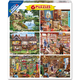 Steve Crisp 6 in 1 Jigsaw Puzzles