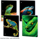 Reptiles Dimensional Wide Ruled Theme Book Assorted Scales & Tails Design