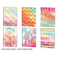 Tribal Daydream College Ruled Dimensional Theme Book Assorted Design