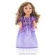 Purple Amulet Princess Doll Dress