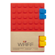 Waff Journal Medium - Red