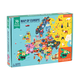 Map of Europe Shaped Puzzle Pieces (70 Piece Set)