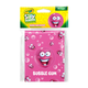 Crayola Sketch & Sniff Small Note Pad - Bubble Gum