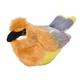 Audubon Bird: Cedar Waxwing Plush With Real Bird Call